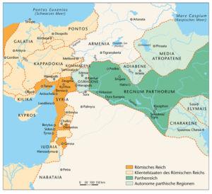 Vorderasien 64 vor Christus