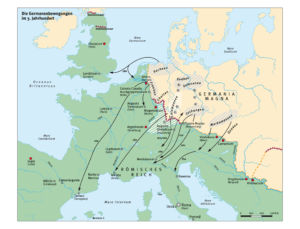 Germanen und das Römische Reich