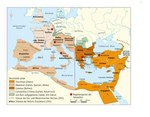 Römisches Reich 240 bis 395