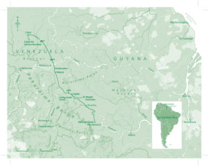 Guyana und Venezuela