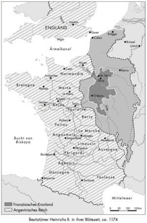 Frankreich 1174