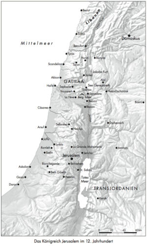 Königreich Jerusalem im 12. Jahrhundert
