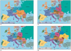 Europa 1914 bis 1998