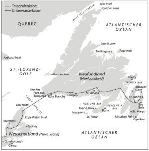 Neufundland und Telegraphen