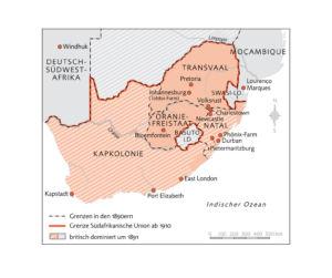 Südafrika 1890