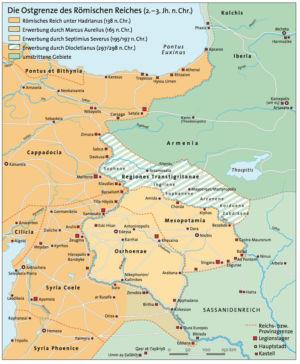 Ostgrenze des Römischen Reiches