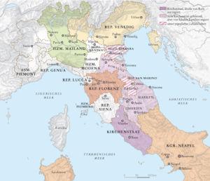 Italien 1454