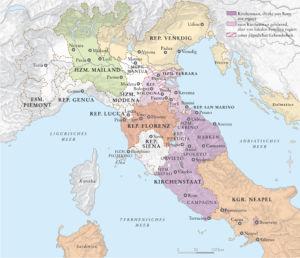 Italien 1503
