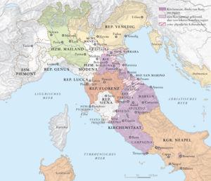 Italien 1507