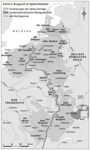 Burgund 1384 bis 1536