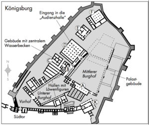 Königsburg in Hattusa