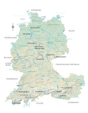 Wasser in Deutschland, Schweiz und Österreich