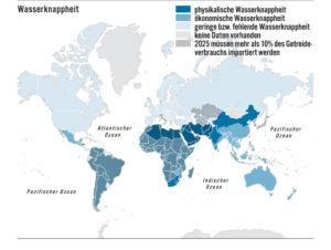 Wasserknappheit in der Welt