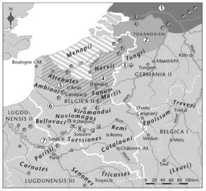 Volksstämme in Gallien