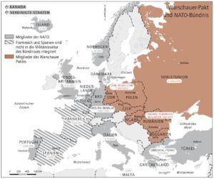 NATO und Warschauer Pakt 1989