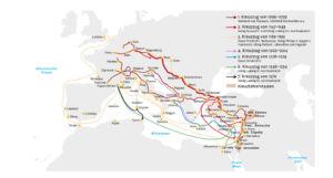 Kreuzzüge 1096 bis 1270