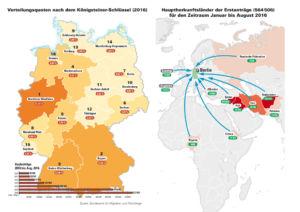 Asylanträge in Deutschland 2016