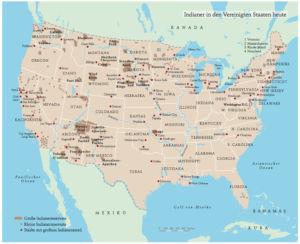 Indianer in den USA heute