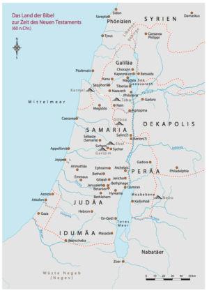 Palästina 60 nach Christus