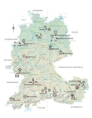 Pferdegestüte in Deutschland, Österreich und Schweiz
