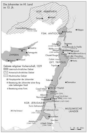 Johanniter im Heiligen Land 1229