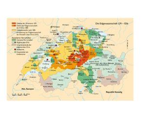 Schweiz 1291 bis 1513