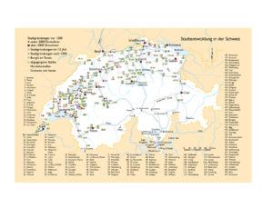 Städte in der Schweiz