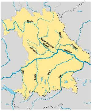 Flüsse in Bayern