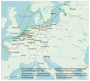 Hanse in Europa 1400