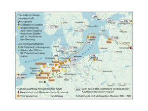 Hanse in Nordeuropa