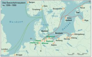 Hanse in Nordeuropa 1250 bis 1350