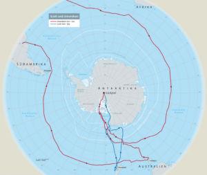 Amundsen und Scott am Südpol