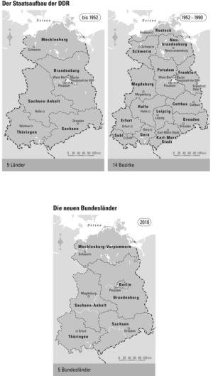 DDR 1952 bis 1990