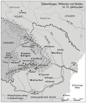 Siebenbürgen, Walachei und Moldau