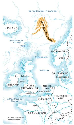 Storegga-Rutschung im Nordpolarmeer