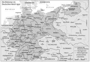 Bistümer im Deutschen Reich 1930