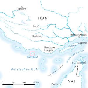V.A.E. und Iran