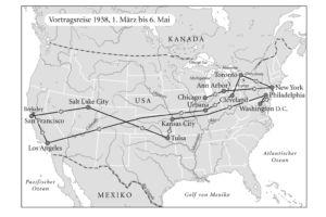 Vortragsreise von Thomas Mann in den USA 1938