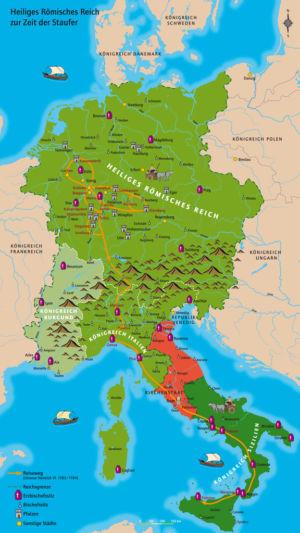 Heiliges Römisches Reich zur Zeit der Staufer