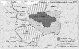 Kerngebiete Polens