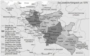 Polen um 1370