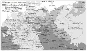 Siebenjährige Krieg 1756