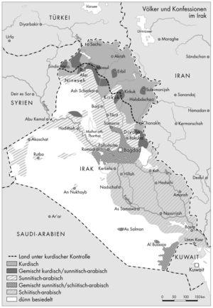Völker und Konfessionen im Irak