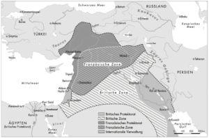 Sykes Picot Abkommen 1916
