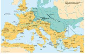 Römisches Reich und die Barbaren