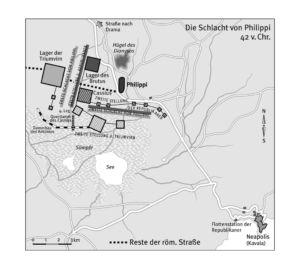 Schlacht von Philippi 42 vor Christus