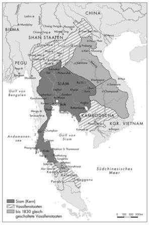 Südostasien 1850