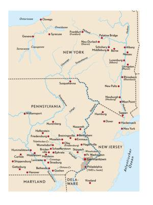 Deutsche Siedlungen in Amerika