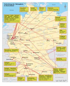 Ndrangheta (Mafia) in Deutschland 2010