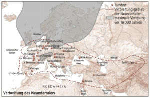 Verbreitung des Neandertalers